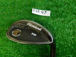 Cleveland Cg16 Tour Black Pearl 58 12 Lob Wedge Traction Steel