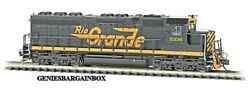 N Scale Rio Grande Dcc And Sound Equipped Sd45 Locomotive Bachmann New 66453