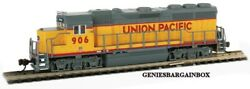 N Scale Union Pacific Dcc And Sound Equipped Gp40 Locomotive Bachmann New 66351