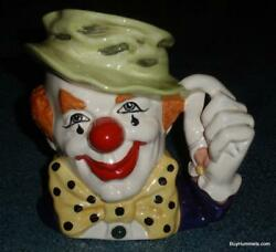 The Clown Character Toby Jug D6834 By Royal Doulton - Rare Collectible Gift