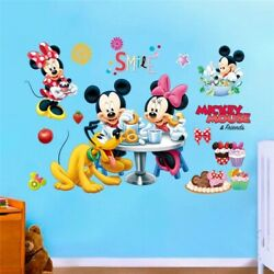 3D New Mickey Minnie Waterproof Removable Wall Stickers For Kids Room Home Décor