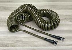 Water Right 300 Series 3/8 Coil Garden Hose Drinking Water Safe 75-foot Lead...