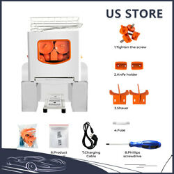 120w Commercial Juicers Machines Extractor Stainless Steel Juicer Heavy Duty