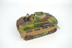 Arnold Germany Tin Wind Up Sparking Tank Vintage Pre-war A680 Working 5-1/4