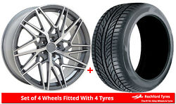 Alloy Wheels And Tyres 20 Velare Vlr06 For Lexus Ls 460 [mk4] 06-17