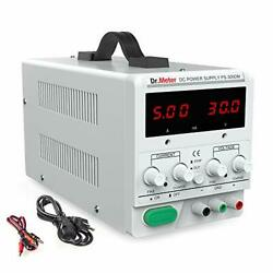 Dc Power Supply Dr.meter 30v 5a Adjustable Switching Regulated Dc Bench