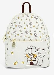 Line Friends Brown And Friends Gumball Mini Backpack And Card Holder Wallet New