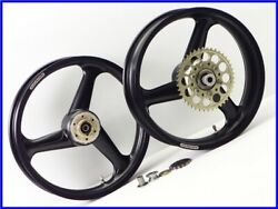 W3 Gsx1100s Katana Marchesini Magnesium Wheel Front And Rear Set 18inch Gsx750s