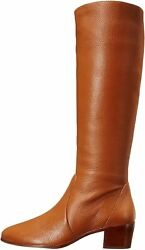 Vince Camuto Women's Shoes Leather Closed Toe Knee High Fashion, Volpe, Size 7.5