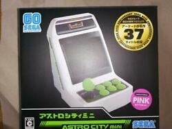 Sega Astrocity Mini Limited Version Pink Button New Free Shipping Japan ☆