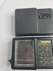 Humminbird Lcr 4 Id Fishfinder Head Unit And Cover Untested