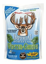 Whitetail Institute Winter-greens Deer Food Plot Seed For Fall Planting Annua...