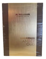 Amber Oud Gold Edition Cologne By Al Haramain For Men Edp 2 Oz/ 60 Ml New In Box