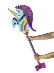 Fortnite Rainbow Smash Pickaxe Role Play Toy Pickaxe Harvesting 39 In. Unicorn