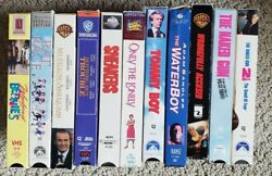 Lot Of 11 Vhs Video Cassette Tapes - Popular Pg-13 Rated Comedies