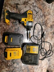 Dewalt Tool Set, Drill, 6ah Battery, 2ah Battery, And Charger. All Working