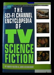 Book 1998 Tv Science Fiction The Sci-fi Channel Encyclopedia - Hard Cover