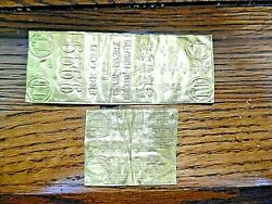 Historic Vietnam Gold Wafer Bars 23,4 Grams Of Pure Gold. Used By Refugees Rare