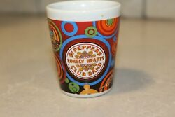 Collectible Beatles Shot Glass Sgt Peppers Lonely Hearts Club Band Love