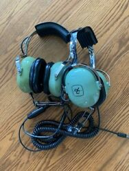 Set Of David Clark H10-56 Headset With Microphone