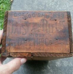 Daisy 3 Air Rifle Wood Empty Box Only Old Vintage Antique Rare
