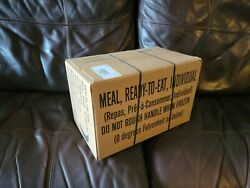 MRE Meals Ready To Eat Case Box