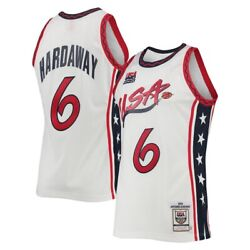 Usa Basketball Penny Hardaway Mitchell Ness White 96 Dream Team Authentic Jersey