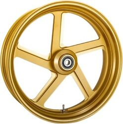 Performance Machine Gold Ops Pro-am One Piece Aluminum Wheel For Dual Disc W/abs