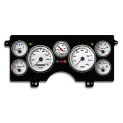 New Vintage Usa 82111-03 7 Gauge Performance Wht 82-89 Buick T/gn