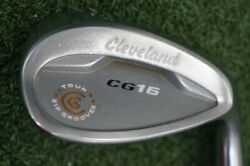 Cleveland Cg16 Tour Zip Grooves 58-12 Degree Wedge Flex Steel 0534575 Right Hand