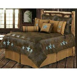 Turquoise Triple Star Bed 5 Piece Set Twin