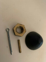 Johnson Evinrude 203830 203230 Prop Cap Nut And Pins 4pc 3 And 4hp 1957 Thru 1972