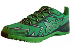Louis Vuitton Sprint Sneaker Mens Green 8.5 Lv Size Us 10 Fa21 Sold Out 1a98z8