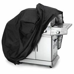 Outdoor Black Waterproof Cover Weber Heavy Duty Grill Cover Protective Round