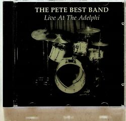 Pete Best Band- Live At The Adelphi Cd 1992 Hand Signed Autographs Beatles