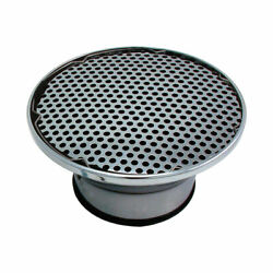 Spectre 4912 Velocity Stack, 9 Inch, Mesh/chrome, 1/2 Inch Filter,each