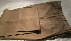Menand039s Dress Pant Big And Tall 100 Pair 44-50 Open Hem 65 Poly 35 Cotton 4 Pocket