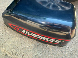 Evinrude 15hp 1998 2 Stroke 284981 Engine Hood Cowl Fits 9.9 10 And 15hp 90and039s 05
