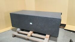 Starrett Black Granite Surface Plate - 60 X 30 X 20 Can Ship By Freight