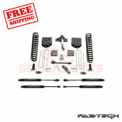 Fabtech 6 Basic System W/ Stealth Shocks For Ford F350 4wd 2008-16