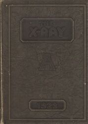 Rare 1923 X-ray - Anderson High School Yearbook - Anderson, Indiana +