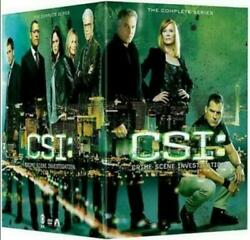 Csi Crime Scene Investigation The Complete Series1-15 Dvd Shipping Is Free.