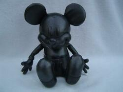 New Authentic Coach Mickey Mouse Stuffed Leather Doll 59151