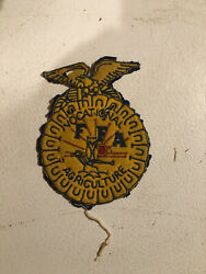 Early Ffa Jacket Patch Vocational Agriculture Future Farmer Of America Vintage