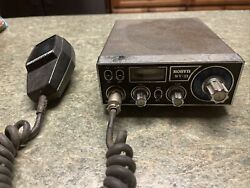 Vintage Robyn Wv-23 Mobile Transceiver Cb 23-channel Radio Usa As Is Untested
