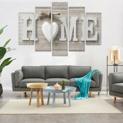 Concise Fashion Wall Paintings Home Letter Printed Photo Art Wedding Decor *USA*