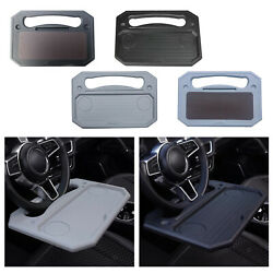 Universal Car Steering Wheel Tray Desk For Snack Dining Fits Most Vehicles