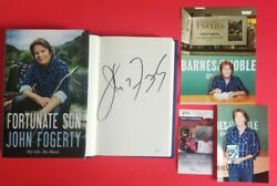John Fogerty Signed Book Fortune Son Certified With Jsa Coa And Photo Proof Psa