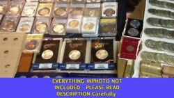 Old Us Coins Mixed Lots Silver Vintage Money Set Estate Sale Old Us Coin