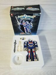 Vintage 1997 Power Rangers In Space Astro Megazord With Box Incomplete
